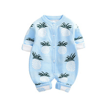 Baby Rompers Winter Cute Pineapple Knitted Newborn Infant Be