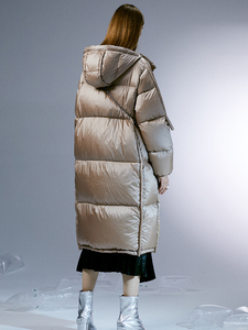 Image 4 - IRINACH45 2020 New Collection thick warm women long white duck down jacket coat winter