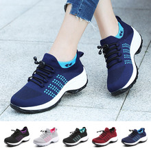 Athletic-Sneakers Sports-Shoes Air-Cushion Running Womens Gym Lightweight Walking Breathable
