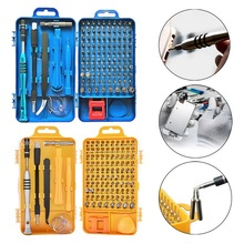 Drop 108 in 1 Screwdriver Set Multi-function Computer PC Mobile Phone Digital Electronic Device Repair Hand Home Tools Bit 2019 jakemy 49 in 1 diy electronic repair tools set screwdriver pliers platform board hand tools for mobile phone tablet computer