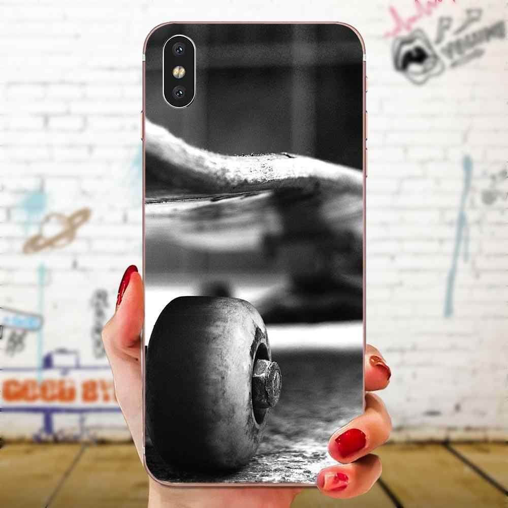 Sports de skateboard pour Xiao mi rouge mi 4 7A 9T K20 CC9 CC9e Note 7 9 Y3 SE Pro Prime Go Play bricolage protection de luxe coque de téléphone