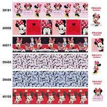 free shipping characters cartoon characters printed grosgrain ribbon 39191(China)