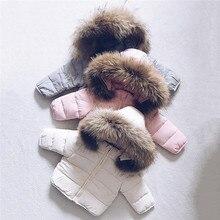 Теплая зимняя куртка с капюшоном из искусственного меха для маленьких мальчиков и девочек, пальто, верхняя одежда,#3S09
