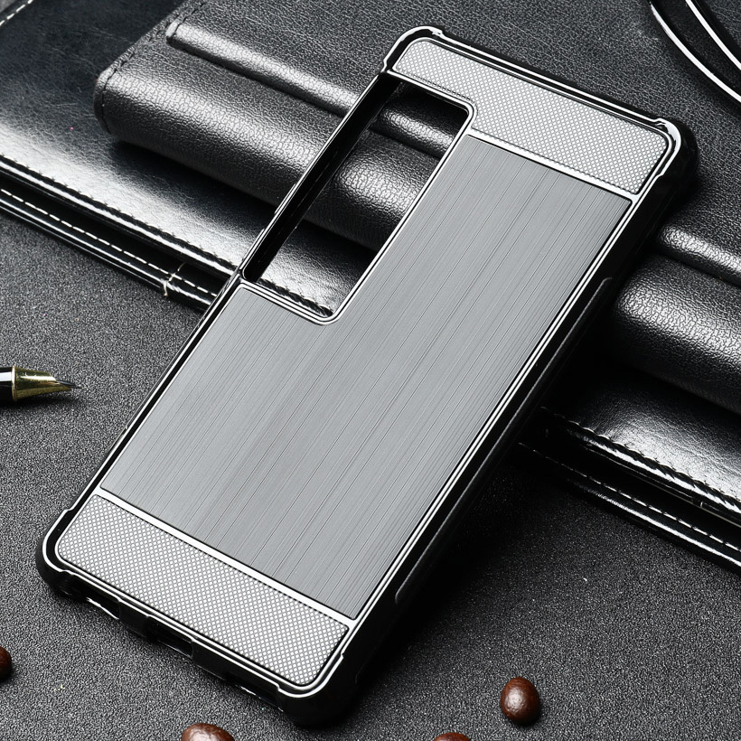Carbon Fiber Soft TPU Cases For Meizu Pro 7 Plus Shockproof Case Back Covers Coque For Meizu Pro7 Plus Cases Silicone Capa Shell
