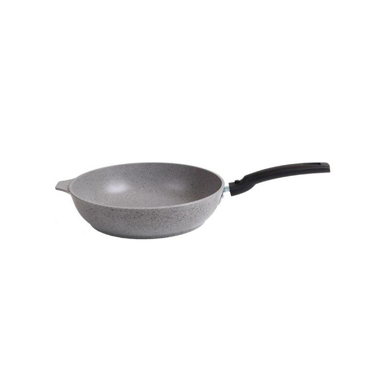 Frying Pan Kukmara, Marble, 22 Cm, With Non-stick Coating, Light Marble