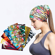 Couple models multi-function male & women scarf  luxury silk Wild travel hijab Sports dry turban haar sjaal