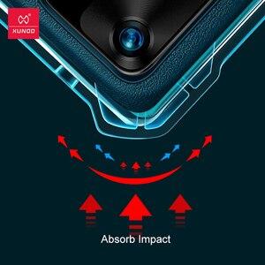 Image 3 - XUNDD עמיד הלם מקרה עבור Huawei P40 פרו מקרה טבעוני עור מגן כרית אוויר פגוש כיסוי מעטפת עבור Huawei P40 פרו כיסוי