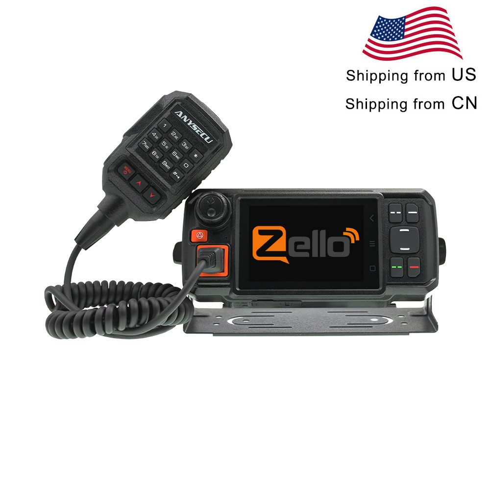 4G-W2Plus 4G LTE Network Radio Android 7.0 WCDMA GSM Woki Toki With WIFI SOS Function Work With Real-ptt / Zello