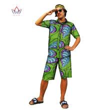 Гавайская рубашка и брюки Дашики Мужская африканская одежда