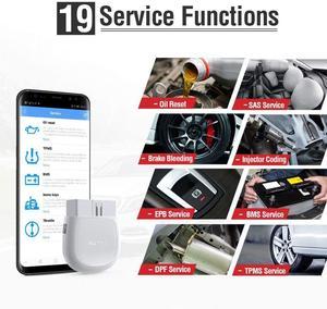 Image 3 - Autel ThinkDiag PK MK808 easydiag 3.0 PK MK808 lecteur de Code de voiture, outil de Diagnostic de voiture, lecteur de Code, système complet, prise OBD2 Bluetooth