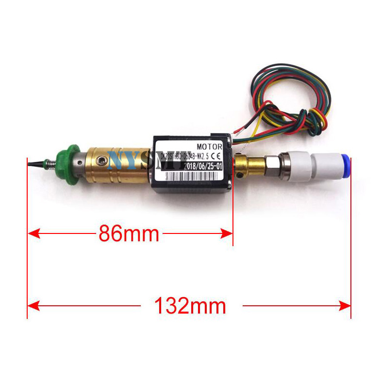 SMT DIY Mounter Connector JUKI Stepper Motor Double Shaft Rotary Joint 503 504 Nozzle Pick And Place Machine