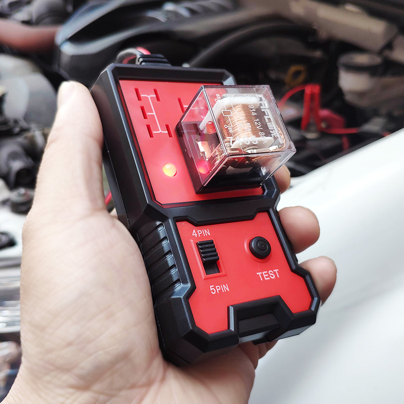 12V <font><b>Electronic</b></font> Automotive <font><b>Car</b></font> Repair Relay Tester Universal for <font><b>Cars</b></font> Auto Battery Checker image