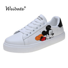 Spring 2020 Women's Flat Shoes Fashion New PU Leather
