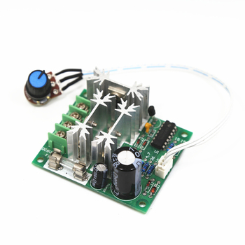 0.01-1000W 15A 13kz DC6V-DC90V PWM DC Motor Speed Regulator Controller With Stepless Speed Regulating Switch image