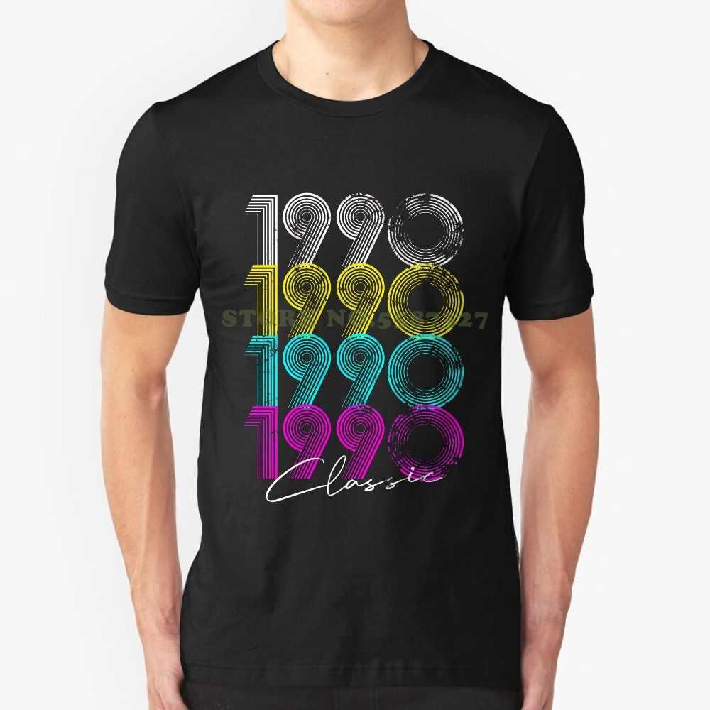 30 번째 생일 선물 클래식 1990 레트로 보이 Tshirt T 셔츠 남성 여성을위한