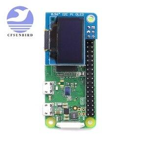 Image 3 - PiOLED   128x64 0.96 inç OLED ekran modülü ahududu Pi için 4