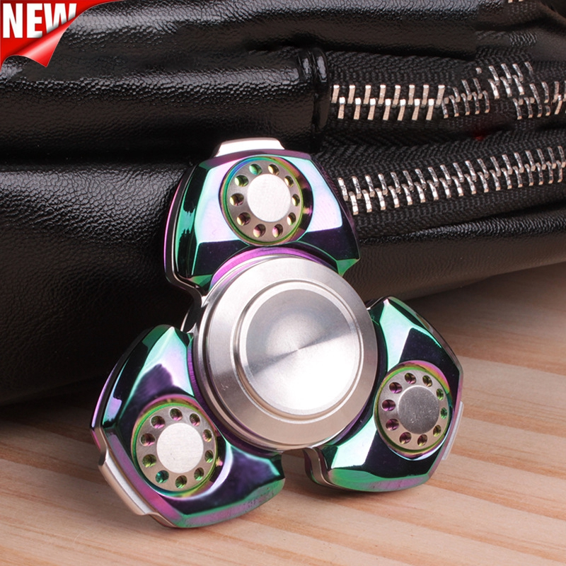 Fingertip Spinner Adult Toy Finger Spinner Anti-stress Hand Spinner EDC Toy Gift for Kid