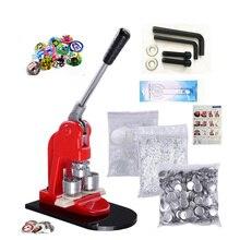 Машина для изготовления значков, пресс-машина для создания штырьков, 1000 круглых кнопок, Набор для изготовления значков