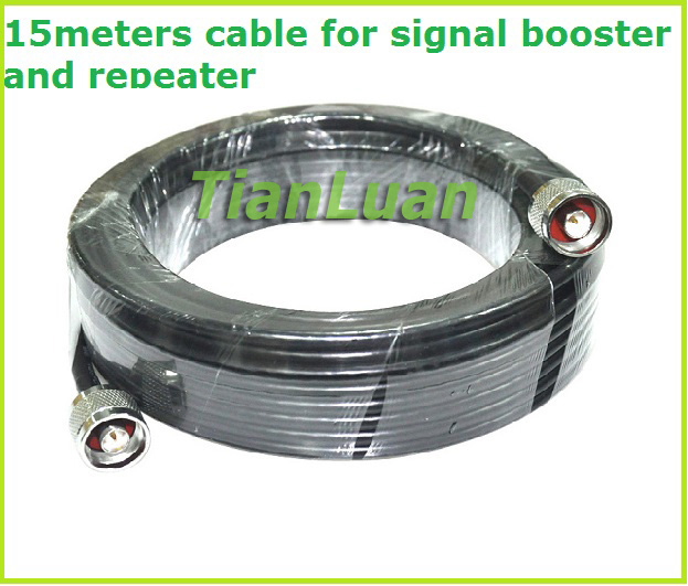 5m 15m Coaxial Cable For Signal Booster And Repeater Copper Axis