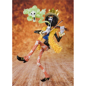 Image 3 - One Piece 20th Anniversary Brook Action Figure 1/8 scale painted figure Zero Anime Ver. Brook PVC figure Toy Brinquedos Anime