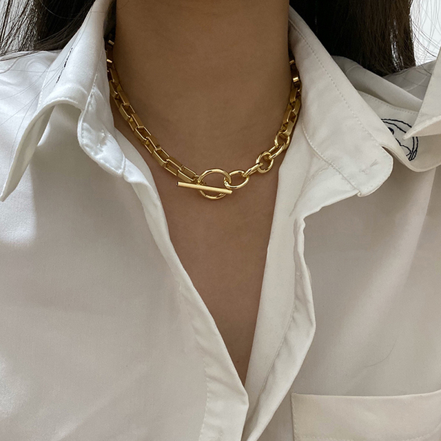 bar and chain necklace 2