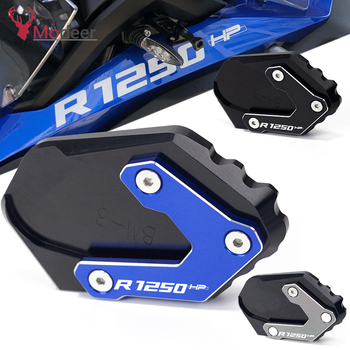 For BMW R1250GS R 1250 GS HP R1250 GS Adv. Adventure low suspension CNC Kickstand Side Stand Vergroter Plaat Extension Pad r1250 gs accessories motorcycle kickstand side stand extension pad plate cover for bmw r1250gs r 1250gs r 1250 gs 2018 2019