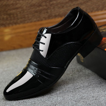 2018 Summer Casual Dress Men Shoes Solid Casual Hot Sale New Brand Fashion Business Men's Shoes HH-574