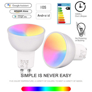 Smart Light Bulb WiFi GU10 RGB