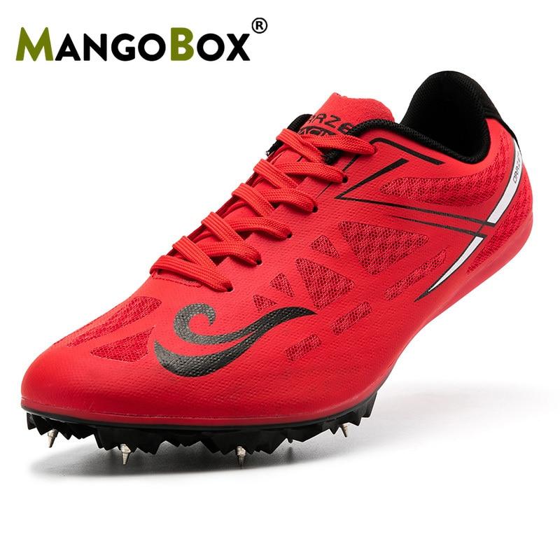Nouveau Cool grand garçon chaussures de piste et de terrain en maille (Air Mesh) pointes pour chaussures de course hommes Feiyue chaussures à lacets piste pointes femmes