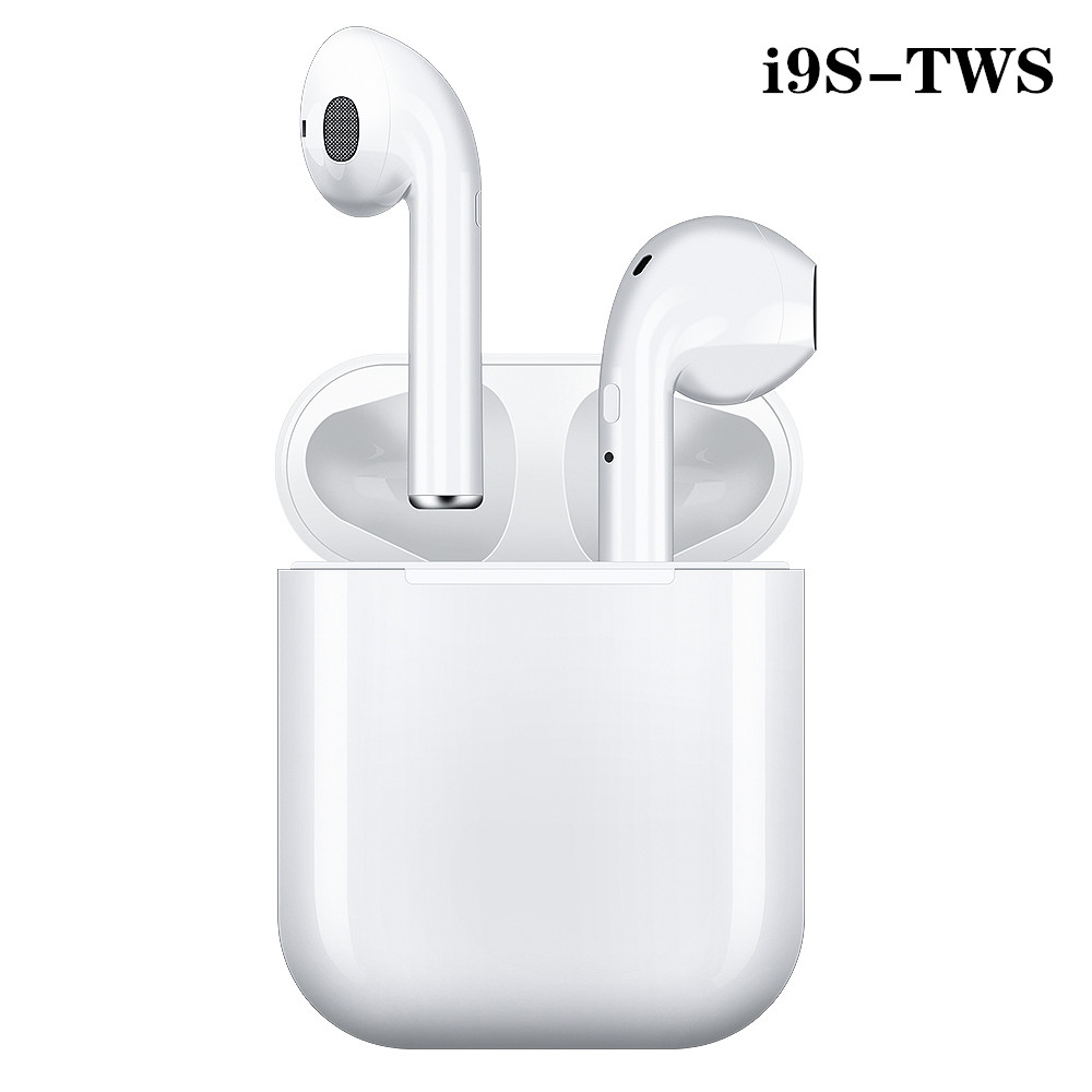 I9s Tws kopfhörer Air <font><b>Wireless</b></font> <font><b>Bluetooth</b></font> 5,0 Kopfhörer <font><b>Mini</b></font> Earbuds Mit Mic Lade Box Sport Headset Für iphone Smart Phone image