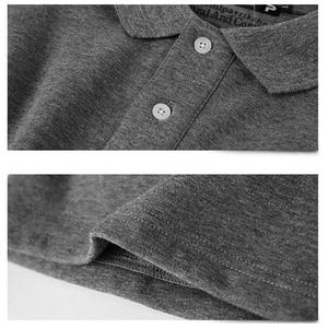 Image 3 - 겨울 가을 새로운 남성 폴로 셔츠 캐주얼 열 양털 남성 폴로 셔츠 두꺼운 따뜻한 5XL 긴 소매 폴로 셔츠 남성 의류 2020