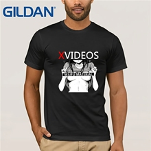 Ahegao XVideos T Shirt Japanese Sexy Waifu  For Man Fashion Streetwear