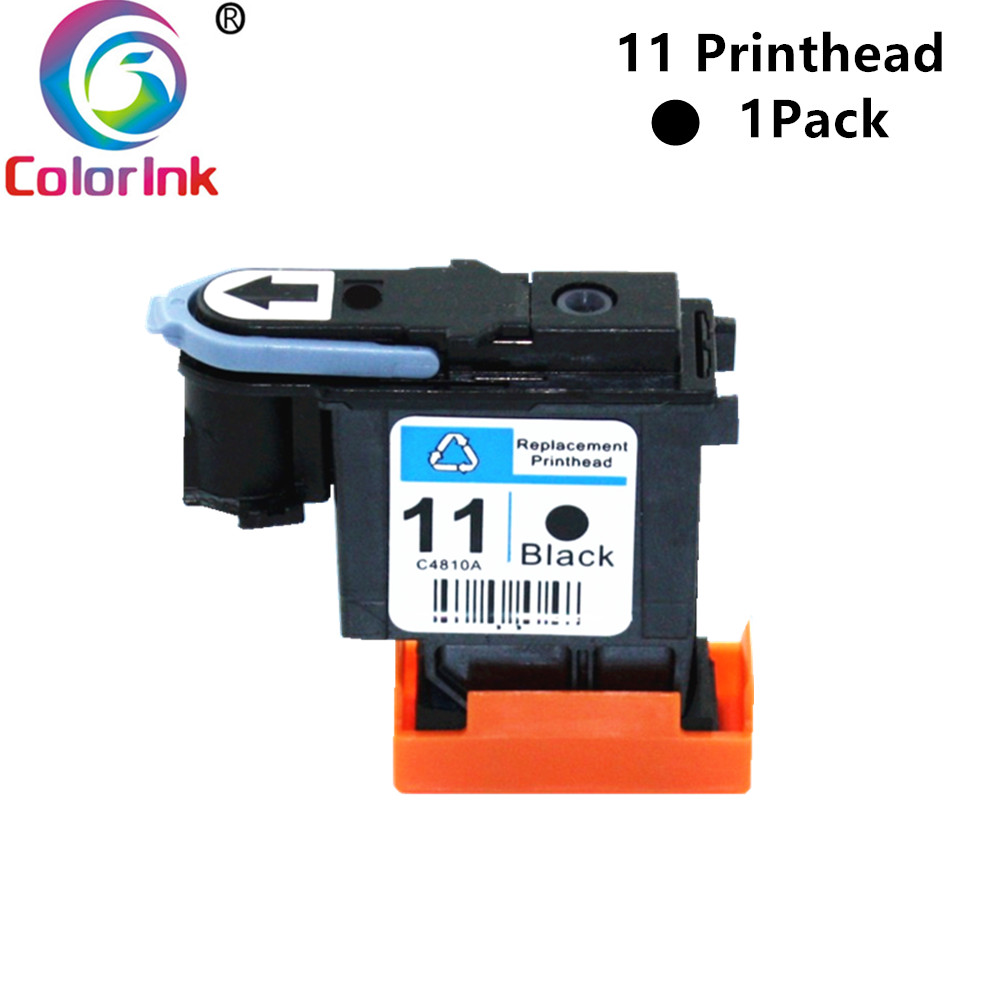 ColorInk 11 C4810A HP11 black Print head <font><b>Printhead</b></font> For <font><b>HP</b></font> Designjet 11 70 100 110 111 120 500 <font><b>510</b></font> 500PS 800 815 820 image