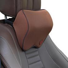 Headrest Filled-Fiber-Cushion-Pad Car-Seat-Accessories Car-Neck-Pillows Memory-Foam Auto