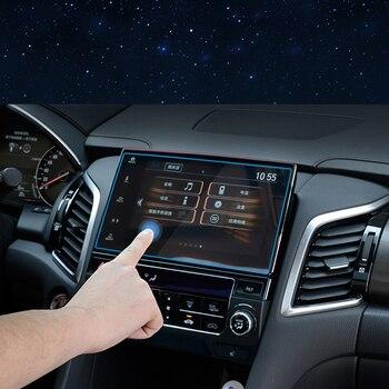 フォード車の gps ナビゲーション画面ガラス鋼保護フィルム久我エスケープ 2013-2017 とインフィニティ QX60 2016-2017