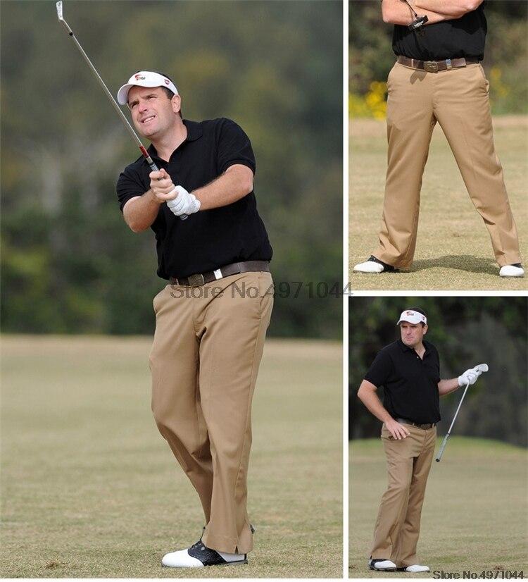 Outono inverno dos homens calças de golfe