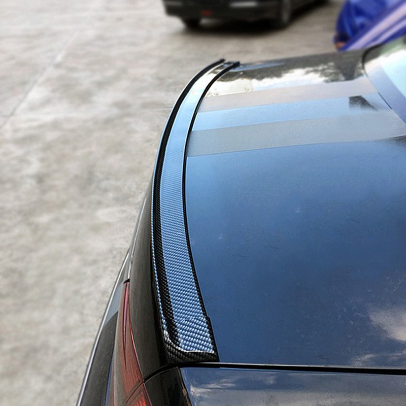 1.5M Car-Styling 5D Carbon Fiber Spoilers Styling DIY Refit Spoiler For BMW e34 e39 e46 e53 e70 e87 e90 e91M M3 g30 x5 f10 f20