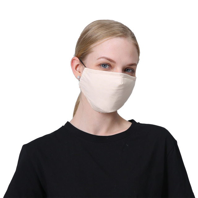 PM2.5 Cotton Anti Dust Mask Mouth Mask Activated Carbon Filter Fabric Face Windproof Bacteria Proof Flu Mouth-muffle Mask 2
