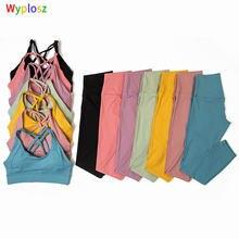 Wyplosz штаны для йоги комплект спортивная одежда занятий спортом