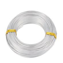 500g 0.8mm 1mm 1.2mm 1.5mm 2mm 2.5mm 3mm 3.5mm 4mm 5mm 6mm Aluminum Wire for Jewelry Making DIY Handwork Beading Wire