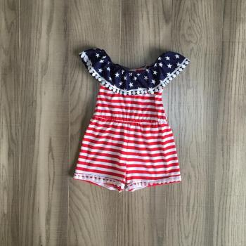 Girls Patriotic Jumpsuit