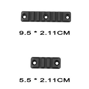 Image 4 - 3 ชิ้นชุดเจล Blaster 3/7 สล็อตสำหรับ SMR 416 Handguard Rail Picatinny Rail Mount Handguard ส่วน Paintball อุปกรณ์เสริม