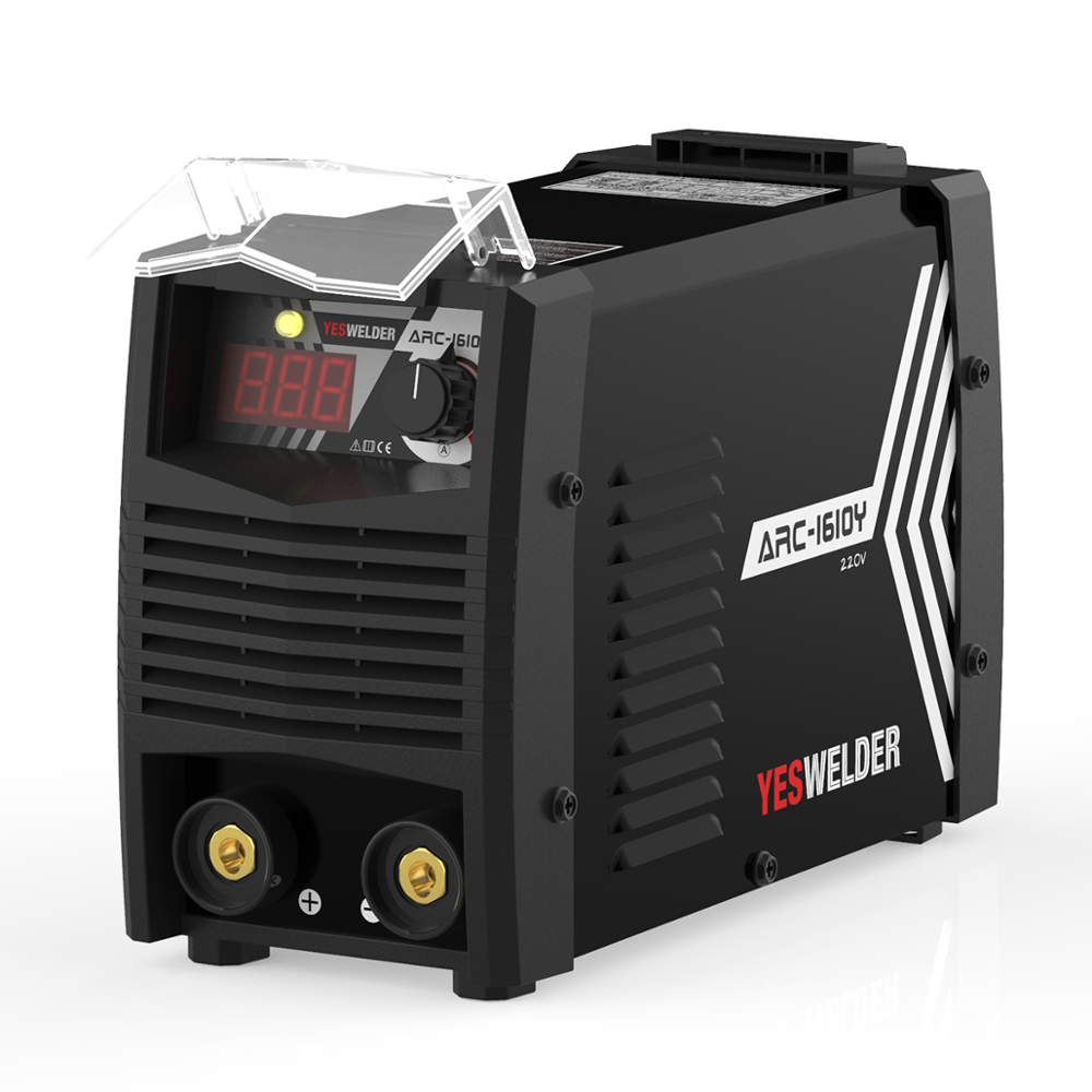 YESWELDER Portable ARC Welding Machine Single Phase 220V 160Amp Stick Welder Digital IGBT Inverter MMA Weld Machine Euro Plug