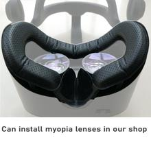 For HP Reverb G2 mask Interface Bracket For Valve Index With Anti-Leakage Nose Pad PU Leather Sweat-Proof Foam Face Cover