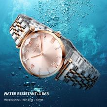 Women's Crystal Dial Luxury Watch