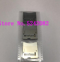 2PCS/NEW SD Memory Card Slot For CANON FOR EOS 650D Rebel T4i Kiss X6i / 700 Kiss X7i Rebel T5i Digital Camera Repair Part