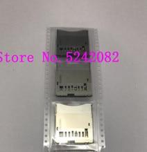 Eos 650d 반란군 t4i 키스 x6i/700 키스 x7i 반란군 t5i 디지털 카메라 수리 부품에 대한 캐논에 대한 2 pcs/새로운 sd 메모리 카드 슬롯