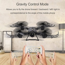 480P HD Camera RC Quadcopter KY601s Wide Angle Lens WiFi FPV Selfie Drone Altitude Hold Remote Helicopter Toy VS XS809