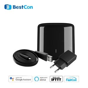 Image 1 - Broadlink RM4 Mini RM4C Mini Bestcon Wifi 4G Ir Afstandsbediening App Controle Smart Home Werkt Met Alexa Echo google Thuis Mini