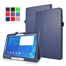 Per il caso di Samsung Galaxy Tab 4 10.1 SM T530 T531 /Tab 10.1 2019/Tab S6 10.5 2019/Tab S5E 10.5 2019 Custodia In Pelle Della Copertura di Vibrazione